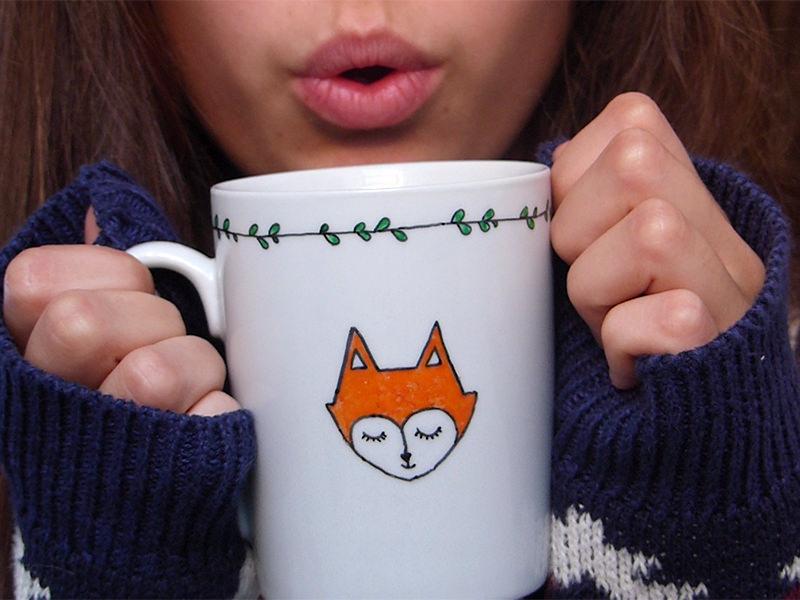Le petit mug renard