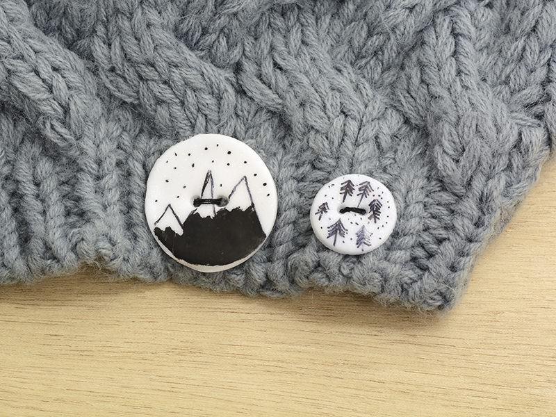Les boutons d'hiver