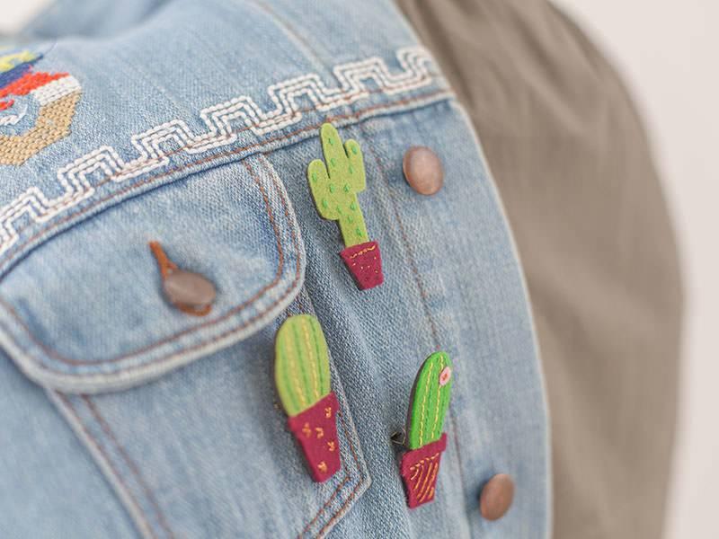 Les broches cactus