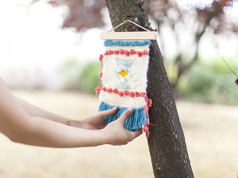Le tissage en laine