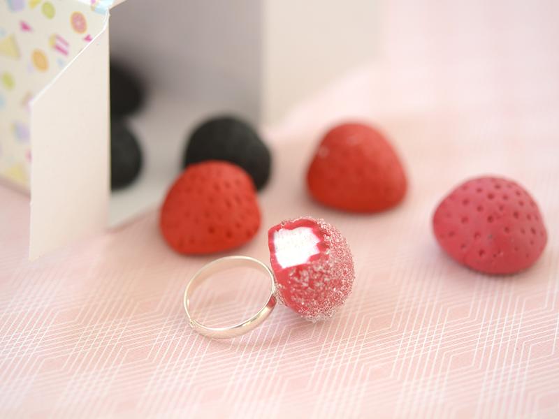 Les classiques : La fraise bonbon