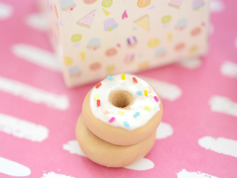 bijou fimo : le donut