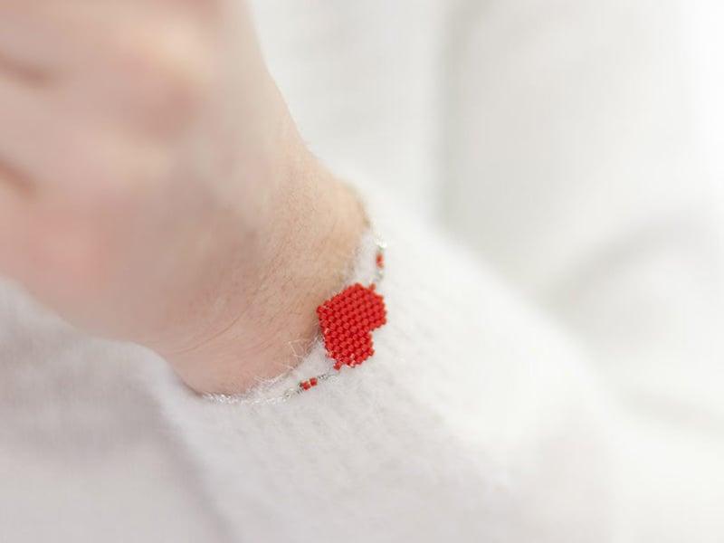 Le bracelet romantique