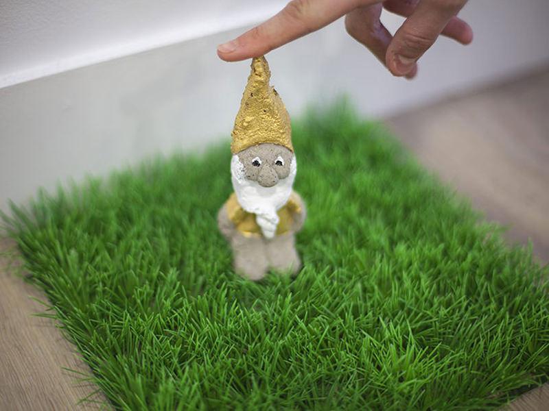 Le nain de jardin en béton