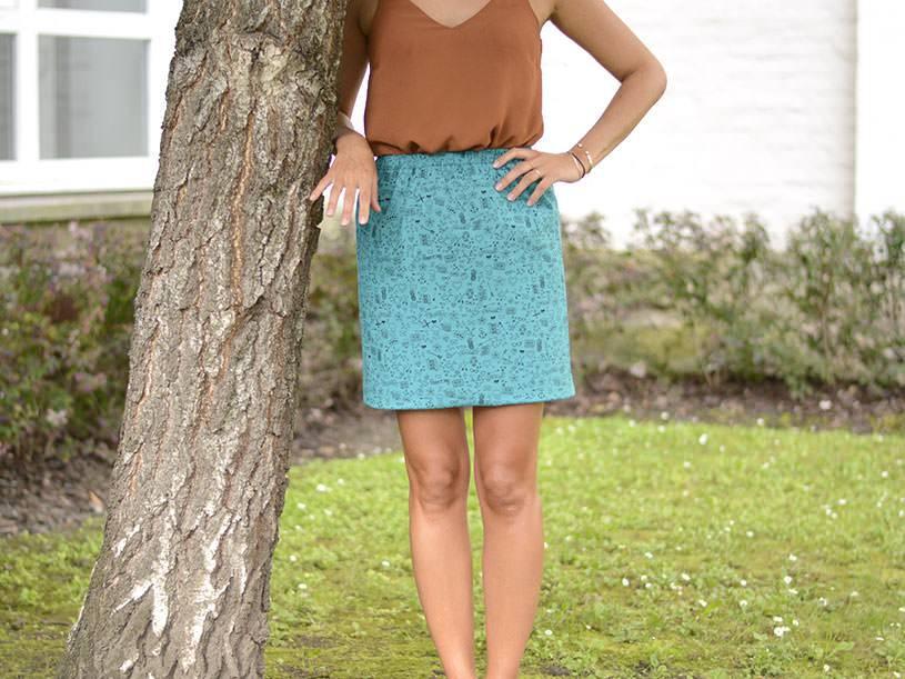 La jupe d'été - tatouée pour la journée