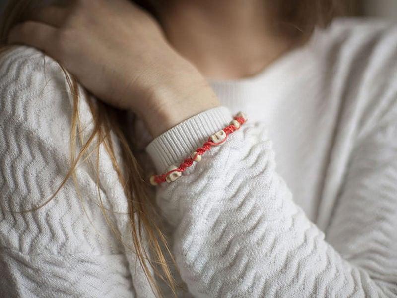 Le bracelet tressé mexicain