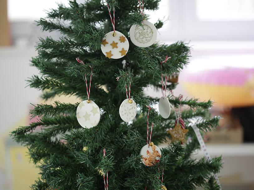 Les décorations de Noël en Fimo