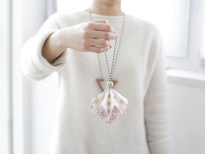 La boule origami