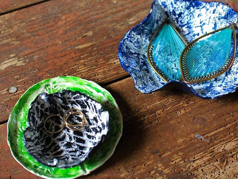 Coupelle à bijoux en Fimo