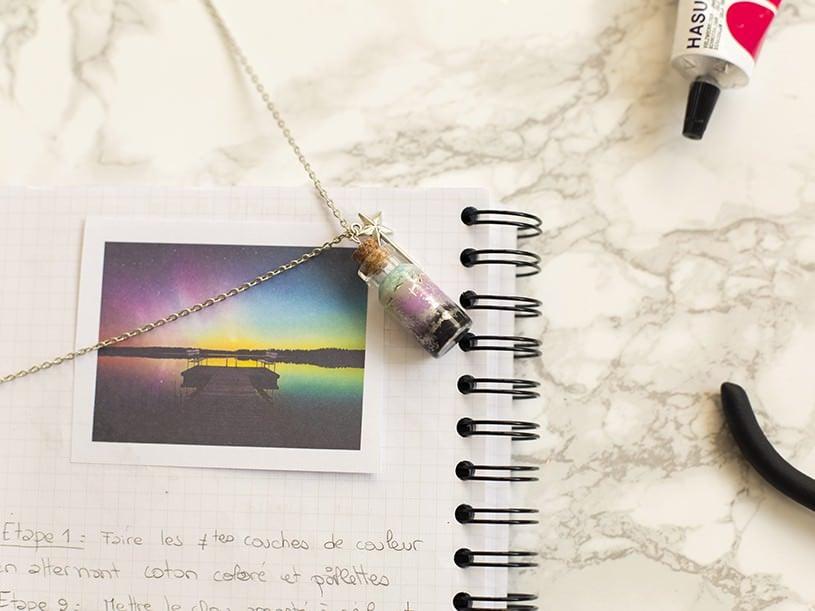"""Le collier """"aurore boréale"""""""