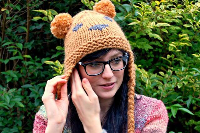 Le bonnet ourson