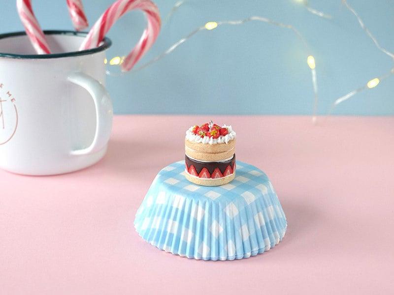 Le cake de Noël en Fimo