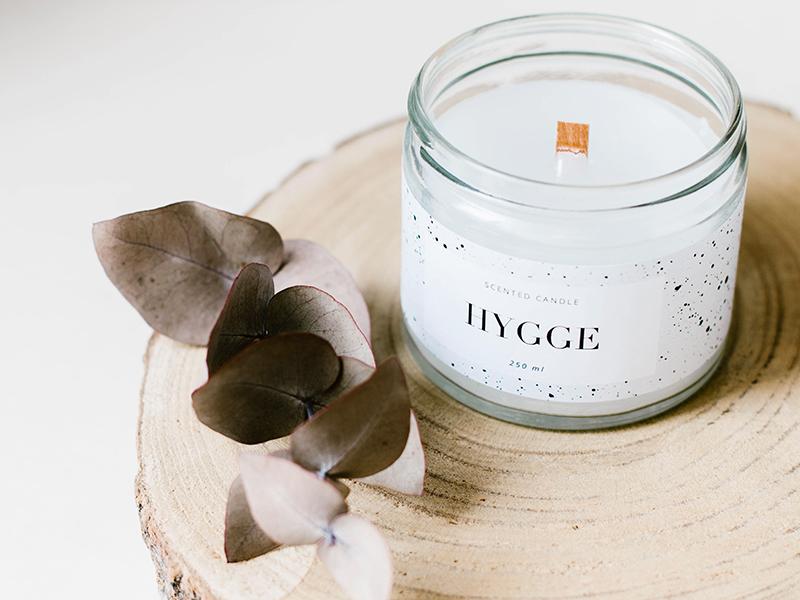 Les bougies HYGGE