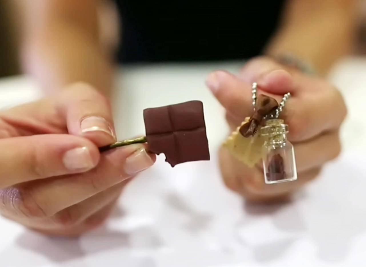 Une parure chocolatée pour la rentrée