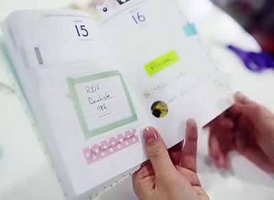 Personnalisez votre agenda