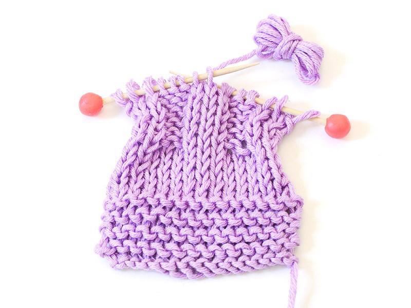 Les points de base de tricot