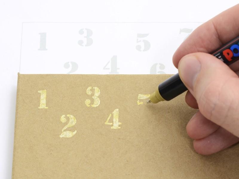 Le calendrier de l'avent de Médéric