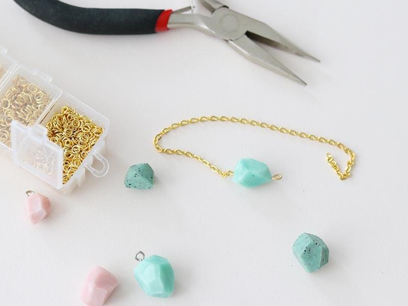 Les diamants en pâte polymère