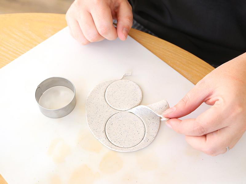 Le calendrier de l'avent en pâte polymère