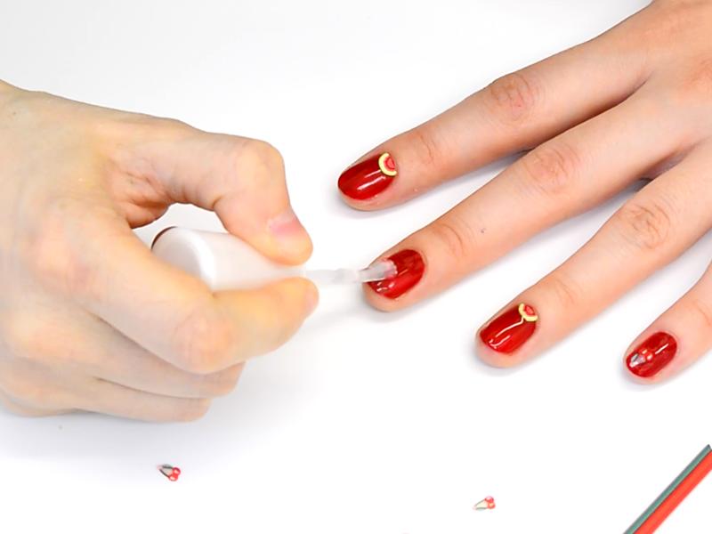 Un nail-art à croquer !