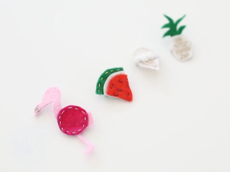 Vous pouvez bien sûr décliner cette technique pour faire des ananas, des cactus, et plein d'autres jolis motifs !