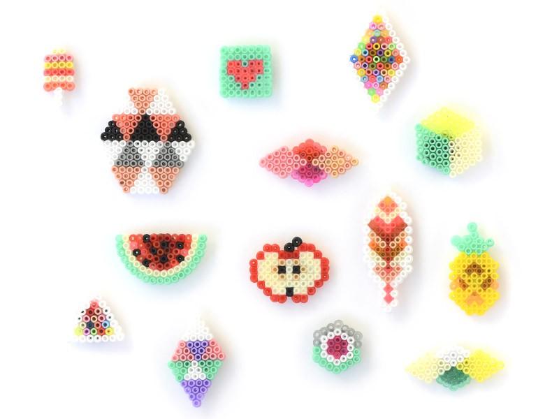 Voici quelques exemples de motifs, mais vous pouvez également en créer de nouveaux, en suivant votre imagination. Cliquez sur l'image pour l'agrandir.