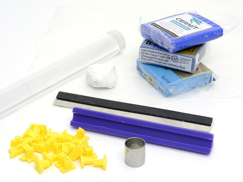 Le nuancier à pâte polymère