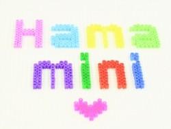 Tüte mit 2.000 HAMA-Mini-Perlen - neonblau