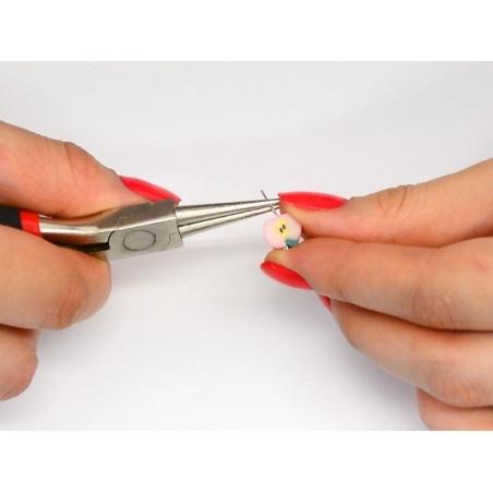 Acheter 10 clous à oeil - couleur argenté foncé - 25 mm - 1,09€ en ligne sur La Petite Epicerie - Loisirs créatifs