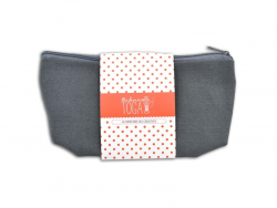 Trousse plate gris anthracite - M
