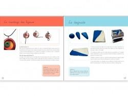 """French book """" pâte polymère - Design et couleurs"""""""