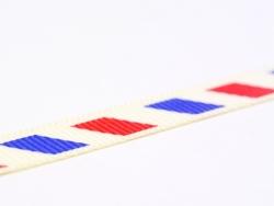 1m ruban gros grain enveloppe airmail  - 10 mm