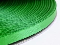 1 m tannengrünes Satinband (einfarbig) - 6 mm
