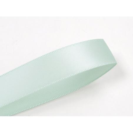1 m ruban satin uni bleu clair - 6 mm