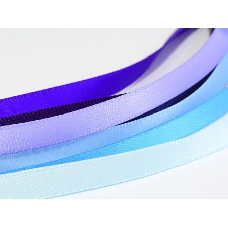 1 m of satin ribbon (6 mm) - light blue