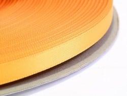1 m einfarbiges Satinband (6 mm) - hellorange