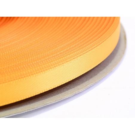 1 m ruban satin uni orange pâle - 6 mm
