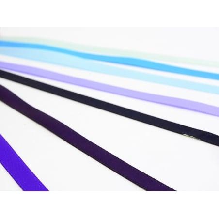 1 m of satin ribbon (6 mm) - navy blue