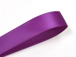 1 m ruban satin uni violet vif - 6 mm