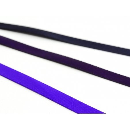 1 m of satin ribbon (6 mm) - dark violet