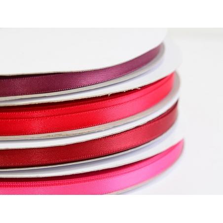 Acheter 1 m ruban satin uni bordeaux - 6 mm - 0,49€ en ligne sur La Petite Epicerie - Loisirs créatifs