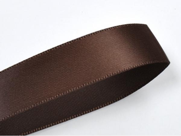 Acheter 1 m ruban satin uni chocolat noir - 6 mm - 0,49€ en ligne sur La Petite Epicerie - Loisirs créatifs