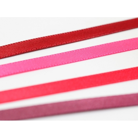 Acheter 1 m ruban satin uni rose - 6 mm - 0,49€ en ligne sur La Petite Epicerie - 100% Loisirs créatifs
