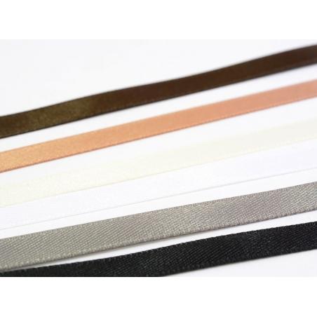 Acheter 1 m ruban satin uni gris anthracite - 6 mm - 0,49€ en ligne sur La Petite Epicerie - Loisirs créatifs