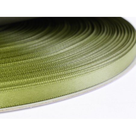 Acheter 1 m ruban satin uni vert olive - 6 mm - 0,49€ en ligne sur La Petite Epicerie - 100% Loisirs créatifs