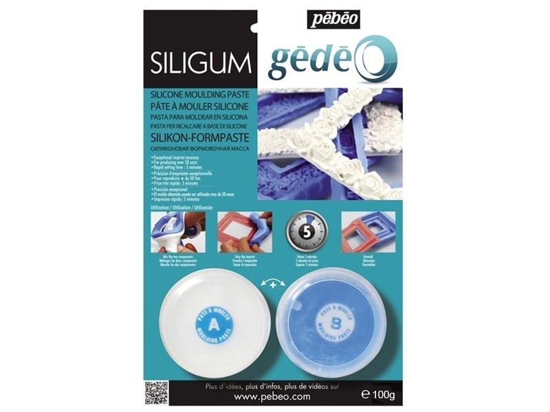 Gédéo Siligum moulding paste - 100 g