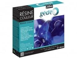 Résine colorée - Bleu Lapis - gédéo 150 ml Pébéo - 1