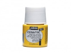 Ceramic paint - yellow