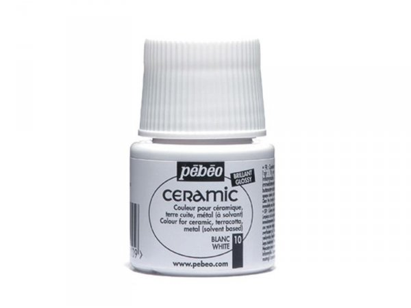 Ceramic paint - white