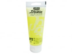 Acrylique 100ml - Jaune fluorescent